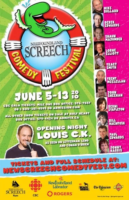 2010 Screech Comedy Festival